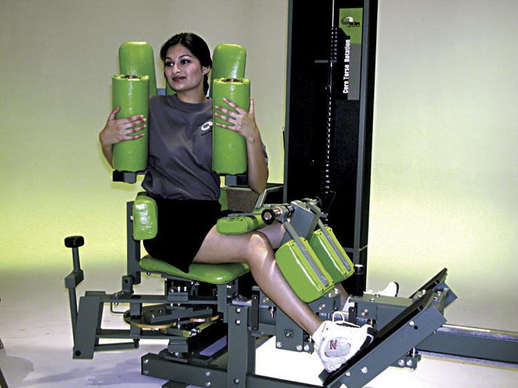 Scoliosis Program Used Medx Equipment Core Medx Equipment